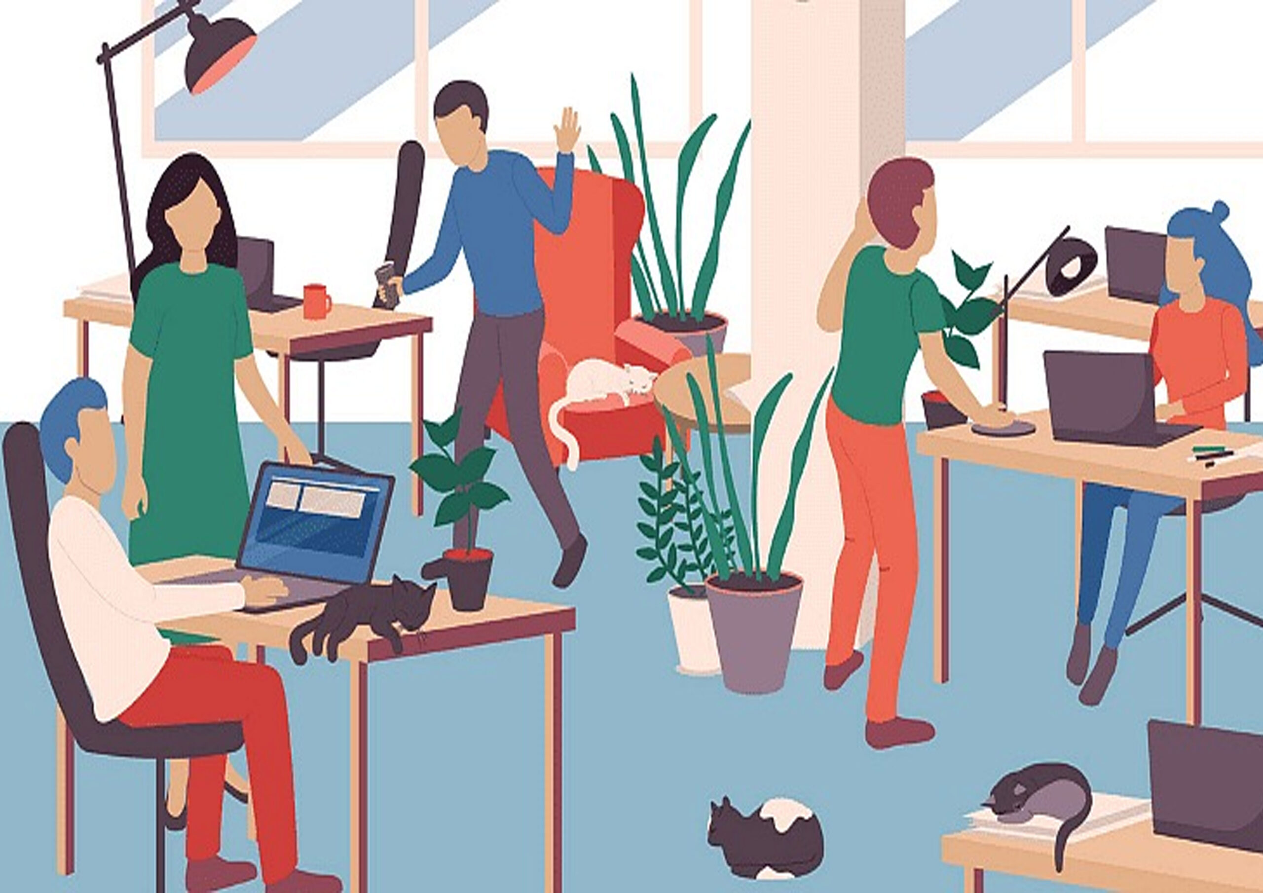 How Coworking Can Help You Accomplish The Perfect Work-life Balance?